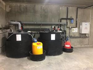 installation de traitement des effluents